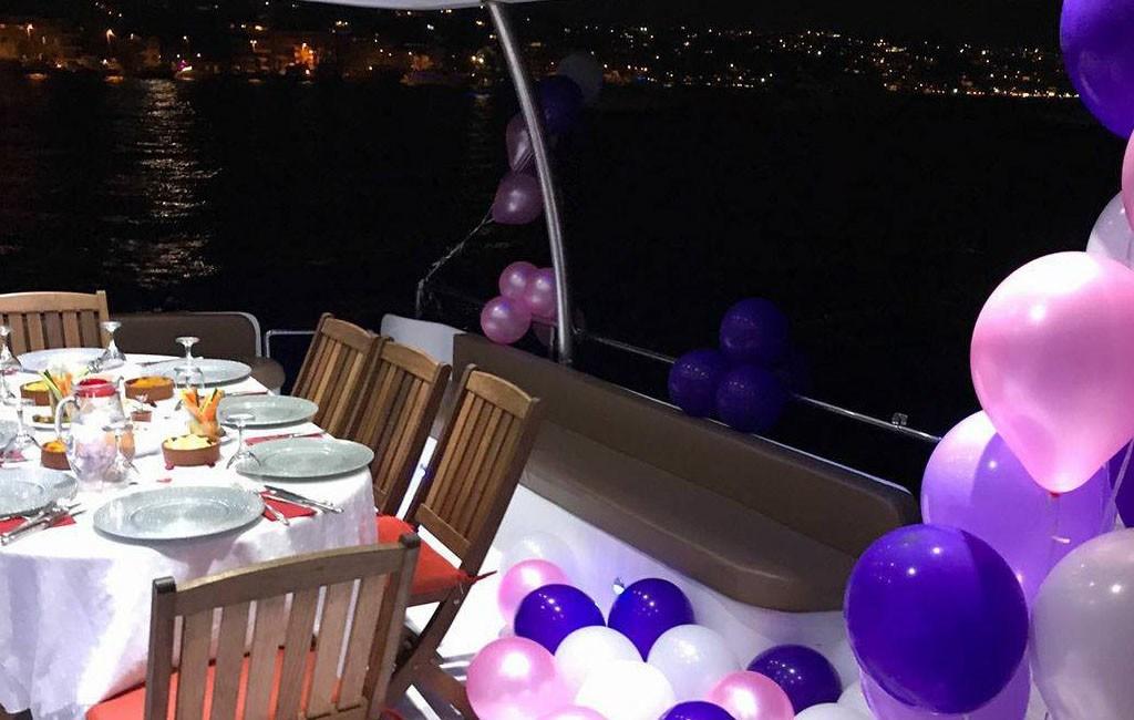 Teknede Doğum Günü Partisi ve Fiyatları