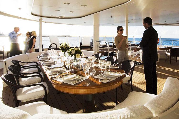 Teknede Şirket Yemeği Organizasyonu