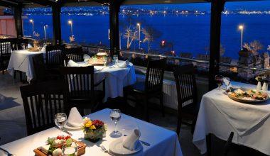 İstanbul'un En İyi Manzaraya Sahip 5 Restoranı