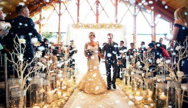 Kış Düğünü Planlayanlara En İyi 5 Dekorasyon Önerisi