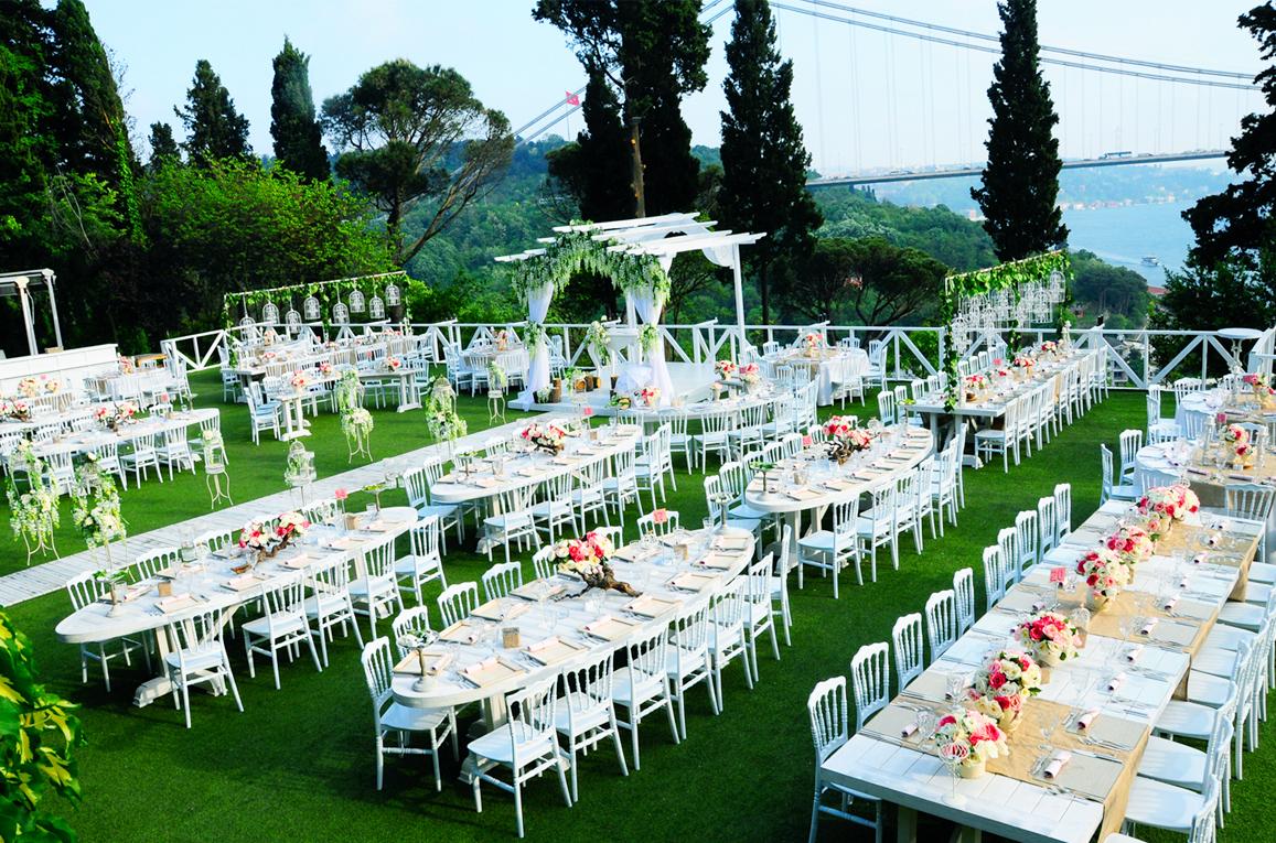 Düğün Süslemeleri İçin Renk Fikirleri