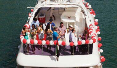 Teknede Doğum Günü Partisi