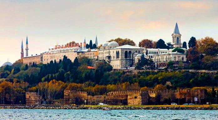 Osmanlı Döneminden Kalma Eser Topkapı Sarayı