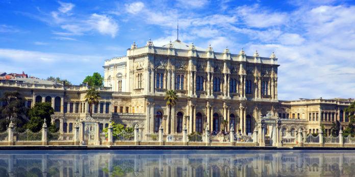 Tarihi Yapı Dolmabahçe Sarayı