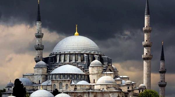 Süleymaniye camii minareleri