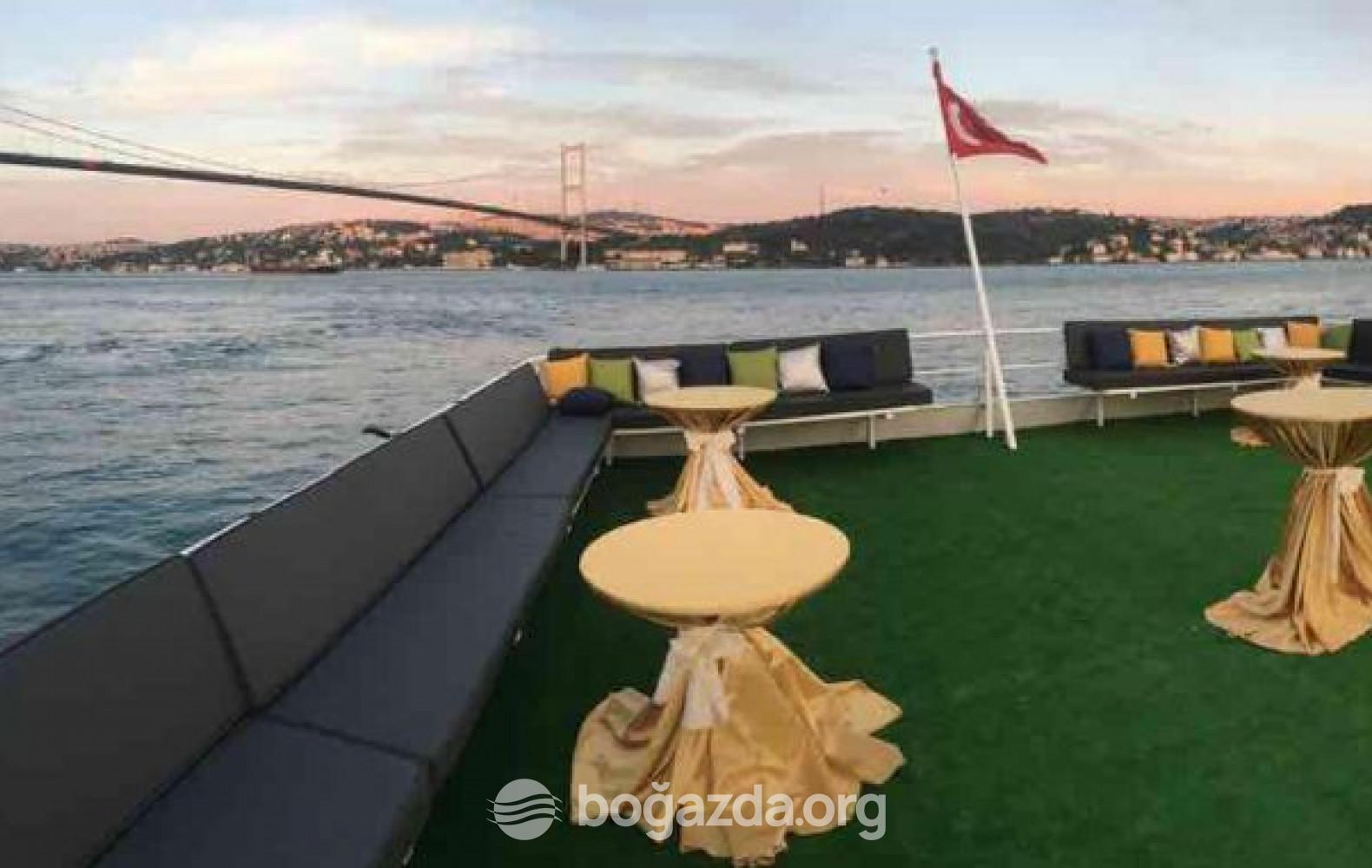 Balıklı 2 Tur Gezi Teknesi